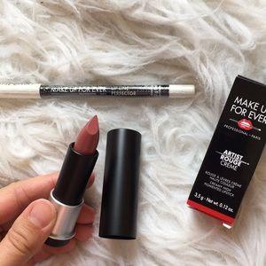 NIB Make Up Forever Lipstick & Lip Line Perfector